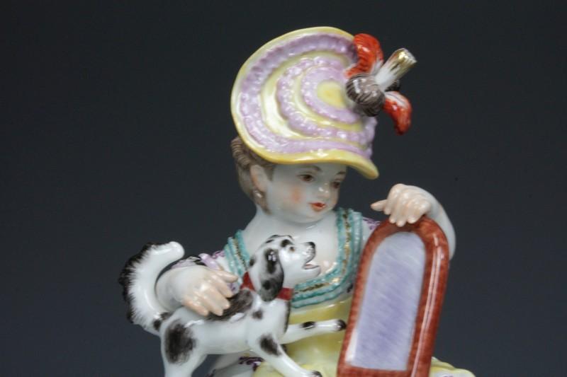 マイセン 少女像の画像2