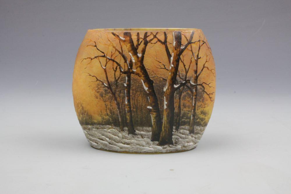 ナンシードーム雪景色花器の画像3