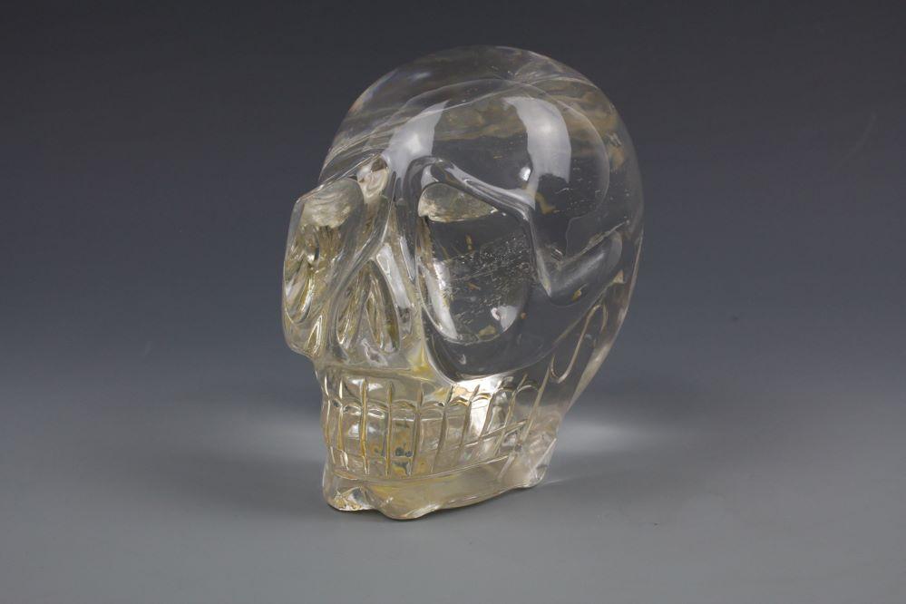 本水晶頭骸骨 クリスタルスカルの画像1
