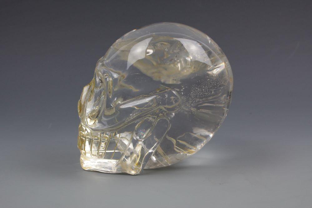 本水晶頭骸骨 クリスタルスカルの画像2
