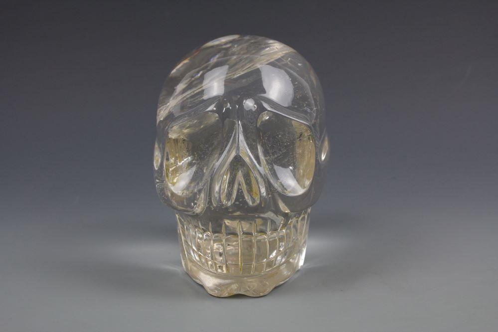 本水晶頭骸骨 クリスタルスカルの画像3