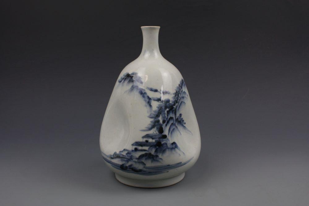 平戸焼花生の画像1