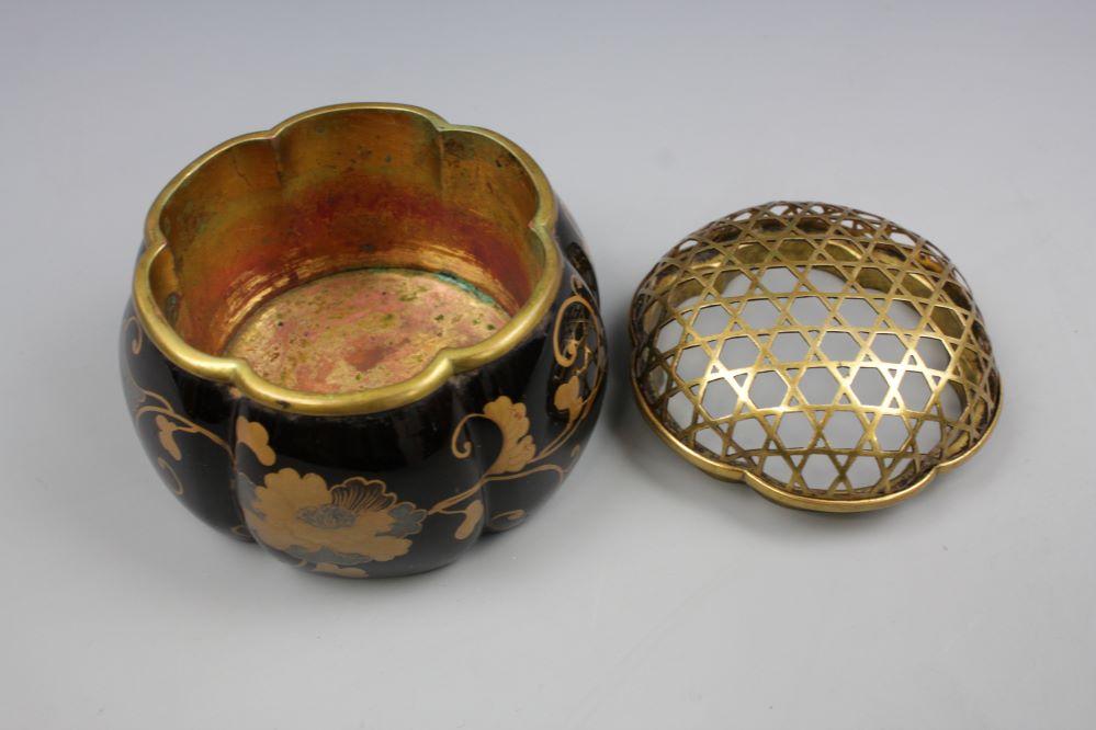 時代蒔絵阿古陀香炉の画像2