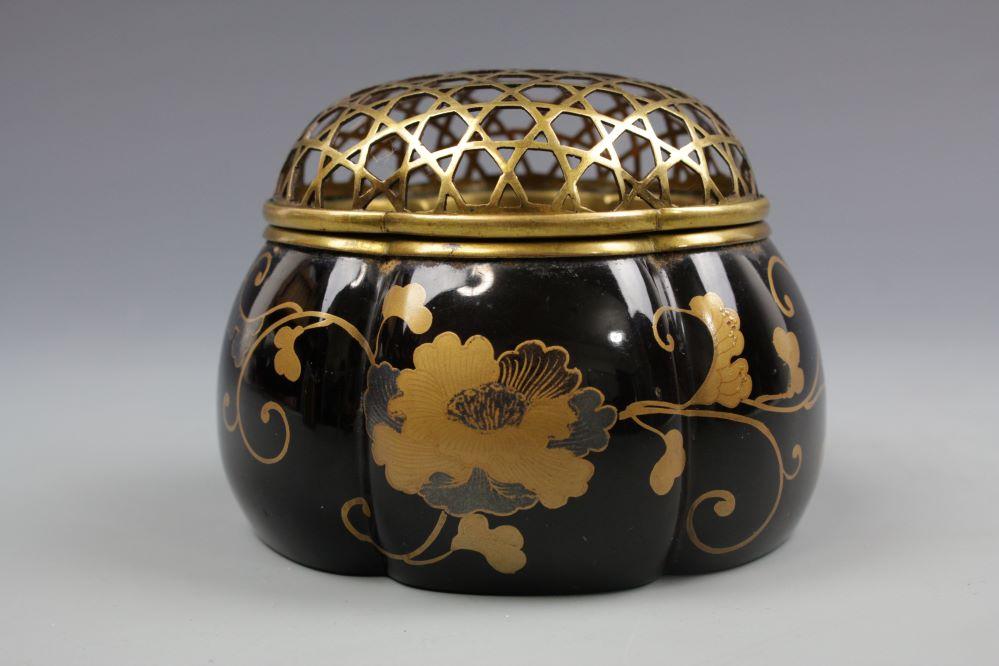 時代蒔絵阿古陀香炉の画像3